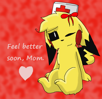Get Well Soon by TeamRocketsPikachu
