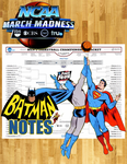 March Madness DC Comics Style! by batmannotes
