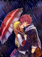 Under the rain by LeonS-7