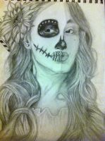 Day of the Dead Portrait by DiegoE05