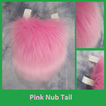 Pink Nub Tail by Lascivus-Lutra