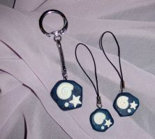 Animal Crossing Fossil Charms by Magelet