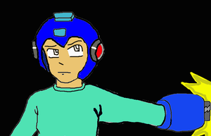 Megaman? by Hewhouseice