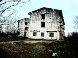 Abandoned building by Meysam110