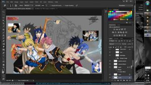 FairyTail Color W I P by brownman06