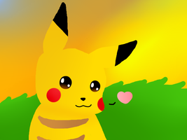 pika-CHU by PlayDeadYo