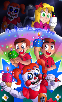 Cupcakes and Ice Creams by FNaF2FAN