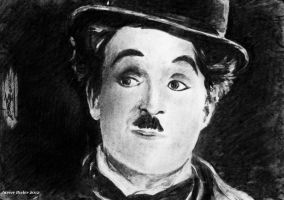 Charles Chaplin - Charcoal by janston