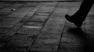 Footsteps in the Street by parablev
