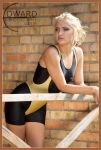 Blonde Fitness Instructor by Edward-Photography
