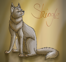 Shingle the random wolf by Finchwing