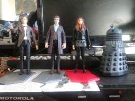 Doctor Who action figures by stormtrooperguy5505