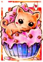 Shiny sweettooth - Maxi ACEO by Ririko
