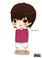 Beautiful Target - Sandeul by nday