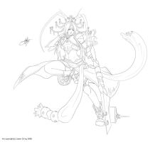 Practice 06 Line art by doghateburger