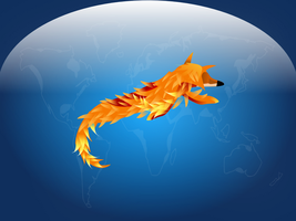 The Fox Jumped Over the World by ToadsDontExist