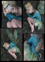 OOAK Sleepy Tinkerbell Fairy 3 by fairytasia