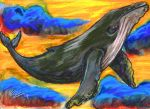Humpback Whale by BumbleBeeFairy