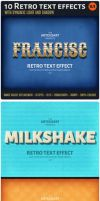 10Retro text effect v1 preview by artgusart