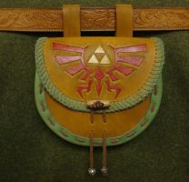 Legend of Zelda Sporran by DerGrundel
