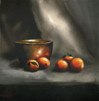 Bronze and Oranges by Tylene