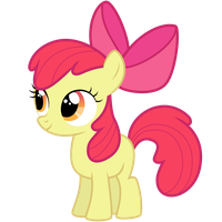 AppleBloom vector (download link) by ConcorDisparate