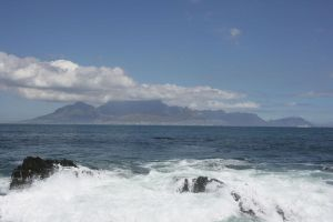 Cape Town from Robben Island by KeyszerS