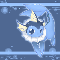 Vaporeon by Effier-sxy
