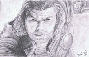 Thor by ConkerTSquirrel