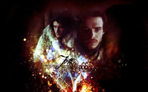 Game of Thrones - Robb and Jon by Firlachiel