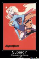 Supergirl Motivational Poster 2 by slyboyseth