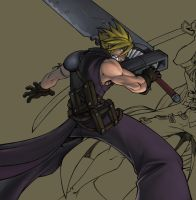 FF7 byLP WIP by TheNass
