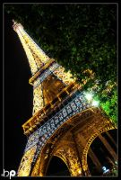 sparkling eifel tower by boproductions