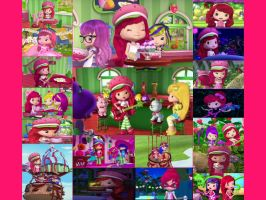 Strawberry Shortcake Collage by sharpclap290