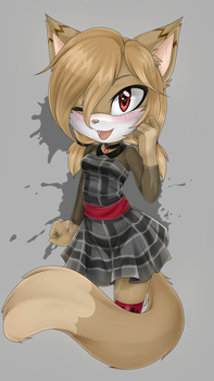 Zoey the Lynx by SugarTC
