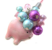 Pig Phone Charm by fairy-cakes