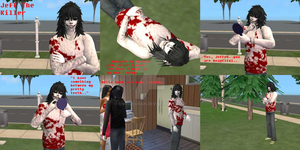 Update: Jeff The Killer-sim by SnowxChan