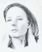 Jodie Foster by Lukasing