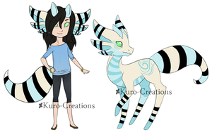 Human Jelly Dragon Auction: CLOSED by Kuro-Creations