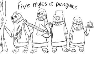 five nights at penguins by Djeyd-VIP-9th