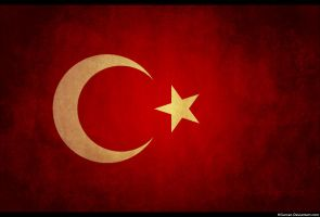 Turkey Grunge Flag by HGurcan