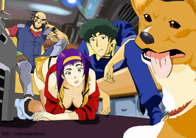 Cowboy Bebop color by Fayeuh