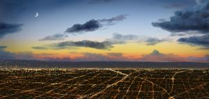 L.A. Lights by Adimono