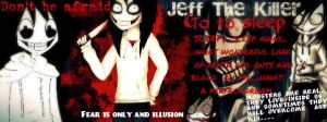 Jeff The Killer/ Go to sleep by Thatkidwhodraws96