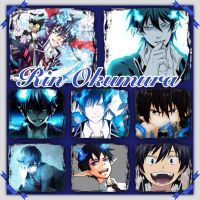 Rin Okumura collage by Xendrak18