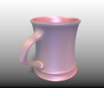 Coffee Cup Pink by LewisVeasey