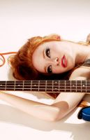 Bass Guitar by MissLoci