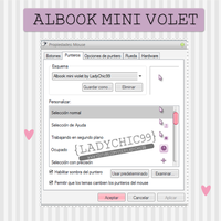 Cursor albook mini violet by LadyChic99 by LadyChic99