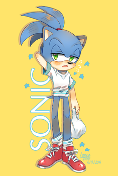 Sonic by cherrychart