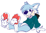 Ticklish Pup by Pastel-Core